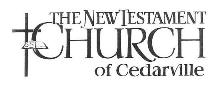 The New Testament Church of Cedarville Mobile Logo