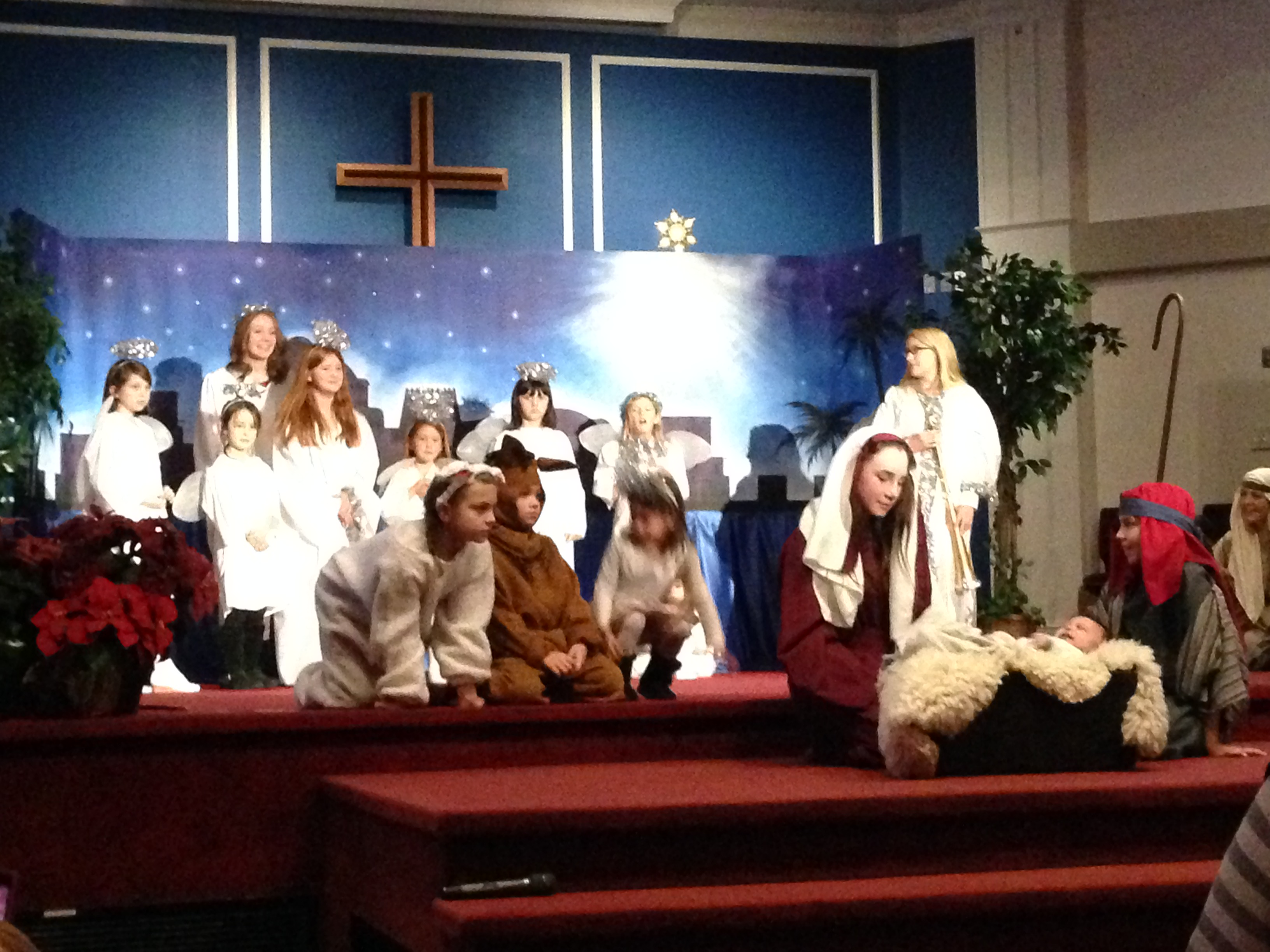 Angels singing - The New Testament Church of Cedarville