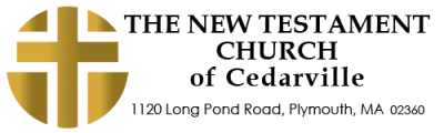 The New Testament Church of Cedarville Logo